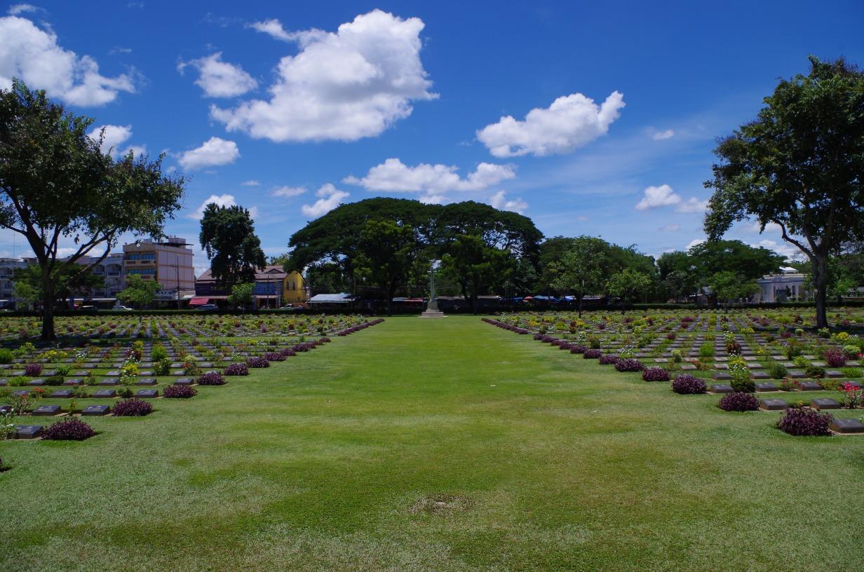 Kanchanaburi WWII - The Kanchanaburi War Cemetery