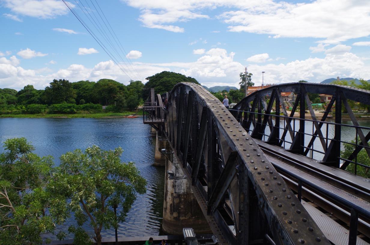 kanchanaburi WWII - The Bridge Over The River Kwai