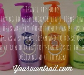 Yourowntrail Travel Tips No 12