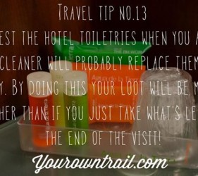 Yourowntrail Travel Tips No 13