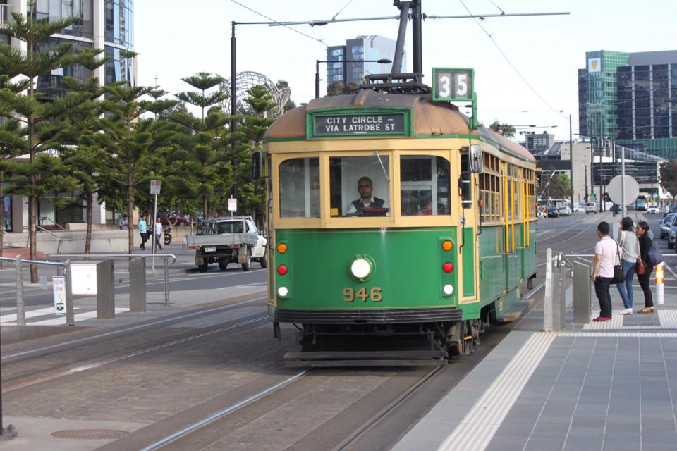 The cost of visiting Melbourne - tram