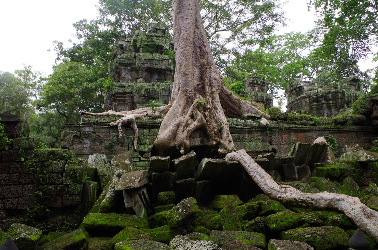 Exploring Angkor Wat - Angkor Thom