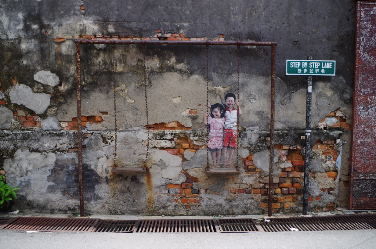 Penang George Town street art - George Town Street Art