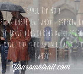 Yourowntrail Travel Tips No 3