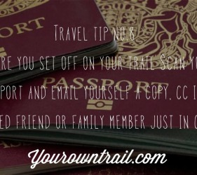 Yourowntrail Travel Tips No 8
