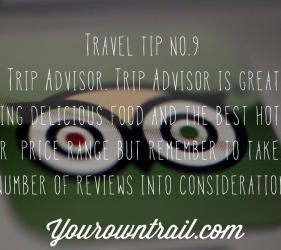 Yourowntrail Travel Tips No 9