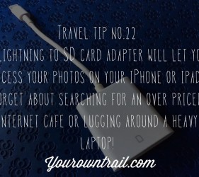 Yourowntrail Travel Tips No 22