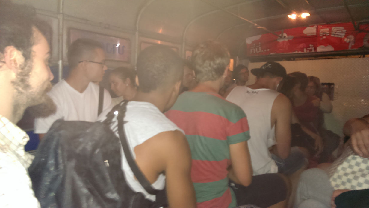 Koh Tao, Thailand Photo Essay - Bus from Chumphon to the ferry
