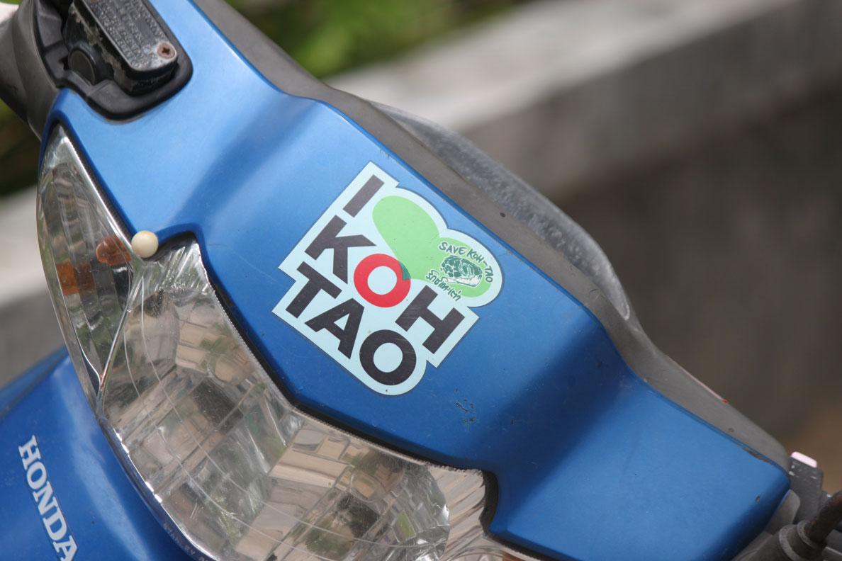 Koh Tao Photo Essay - Koh Tao Moped