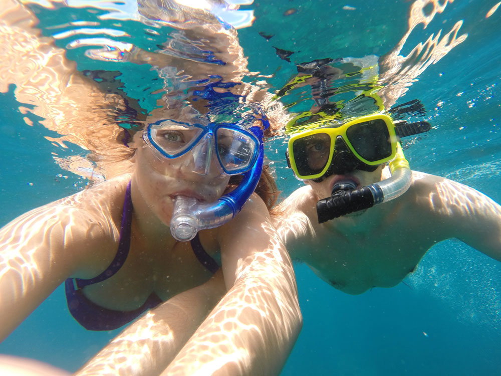 Koh Tao, Thailand Photo Essay - The obligatory snorkel selfie.