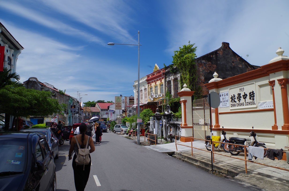 Save Money While Travelling - Exploring George Town on Foot