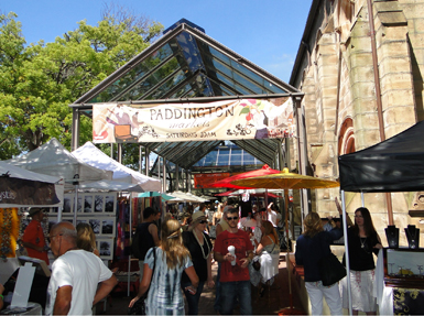 10 free things to do in Sydney - Paddington market