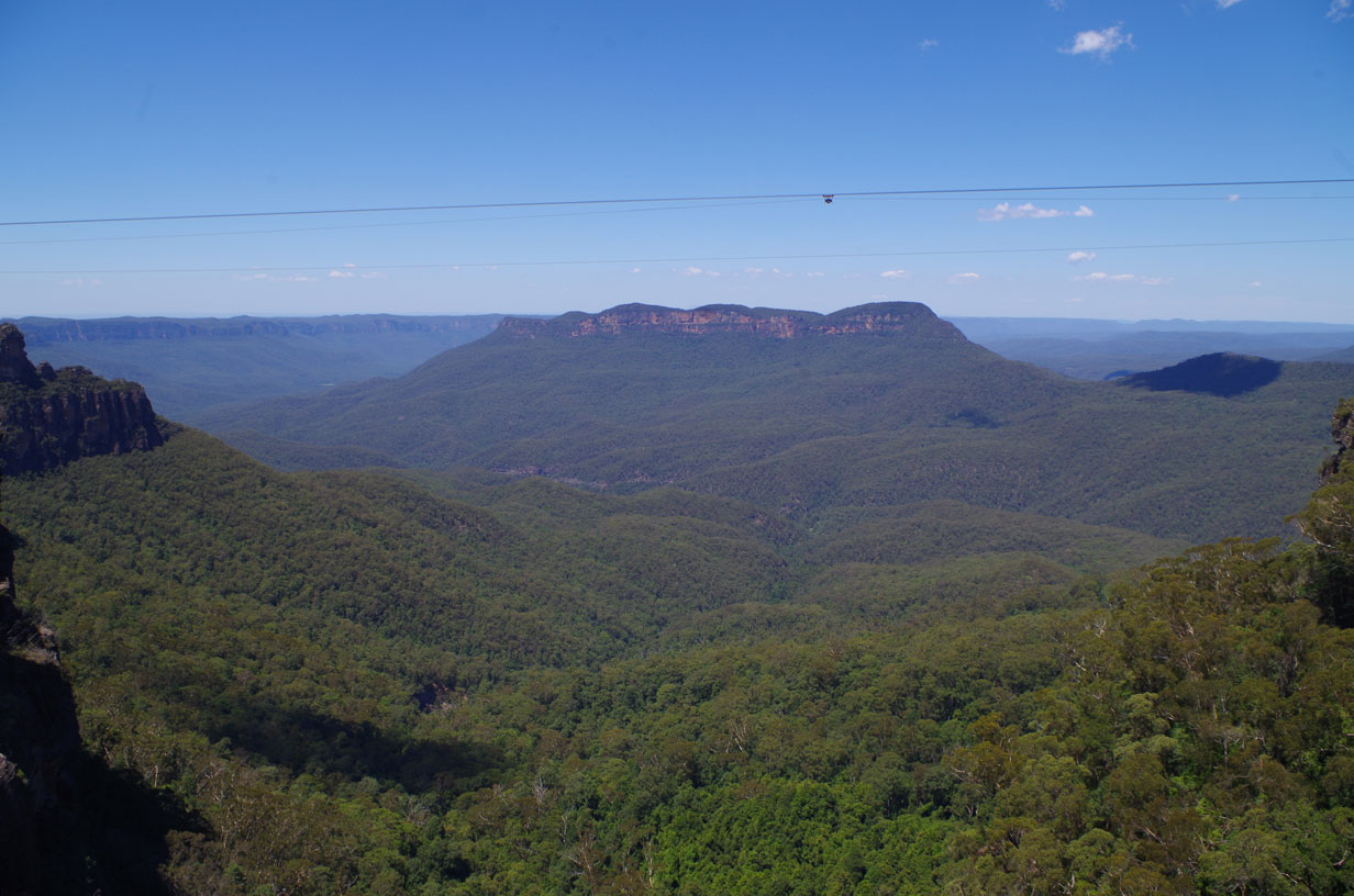 Visiting the Blue Mountains by Train -  The View!