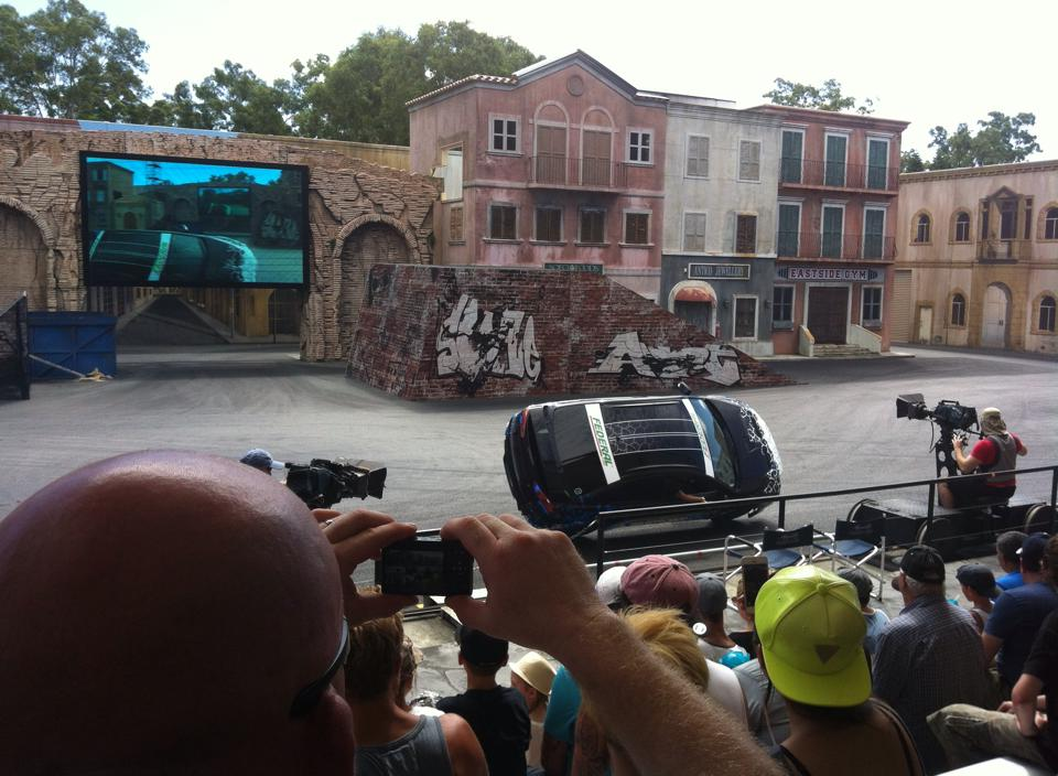 Movie World Gold Coast - We really enjoyed the stunt show!