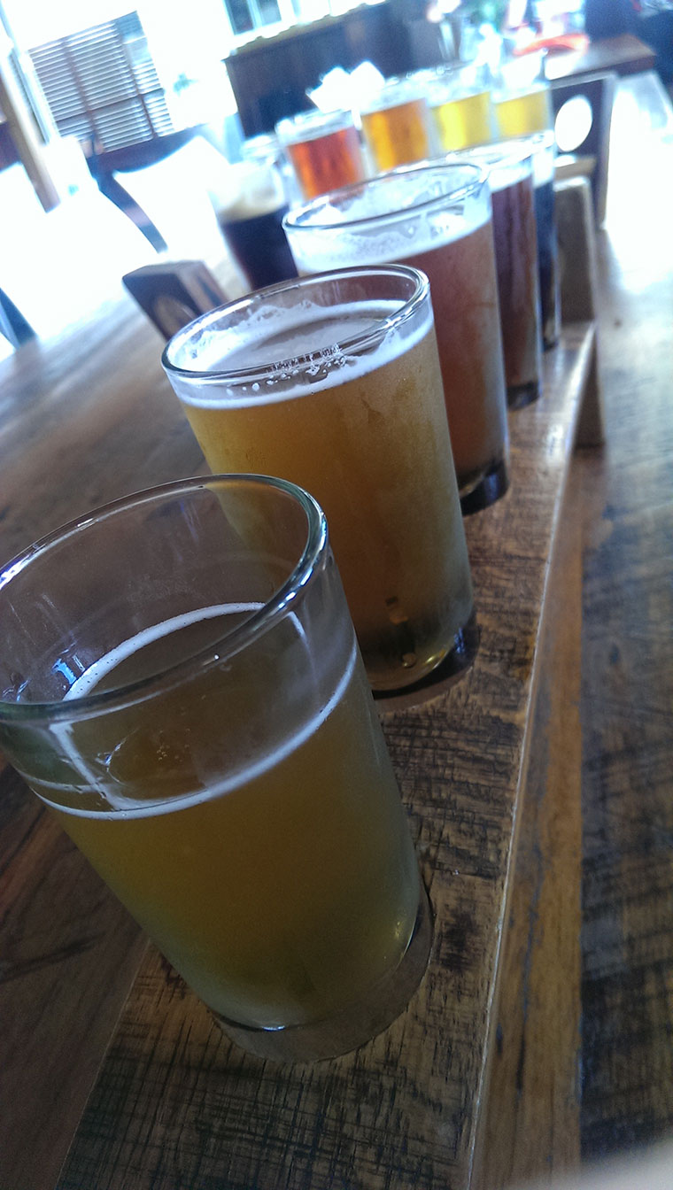 One week in Manly NSW - We loved the beer at The Four Pines Brewery