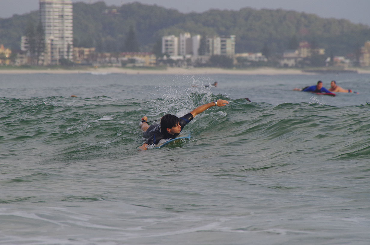 ...and surfing!