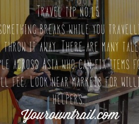 Yourowntrail Travel Tips No 15