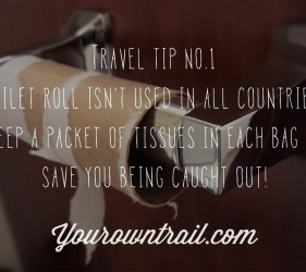 Yourowntrail Travel Tips No 1