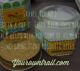 Yourowntrail Travel Tips No 2