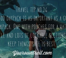YOUROWNTRAIL TRAVEL TIP NO.26