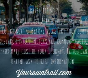Yourowntrail Travel Tips No 7