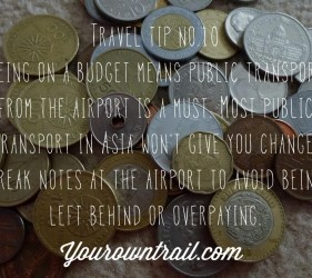 Yourowntrail Travel Tips No 10