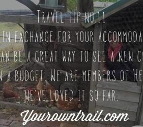 Yourowntrail Travel Tips No 11