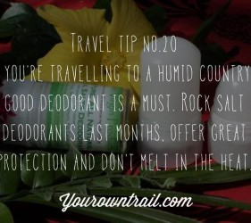 Yourowntrail Travel Tips No 20