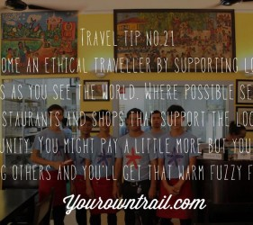 Yourowntrail Travel Tips No 21