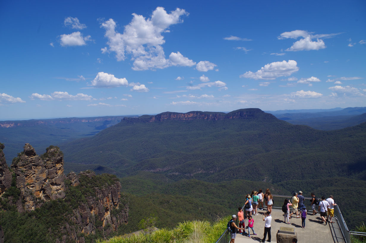 Visiting the Blue Mountains by Train