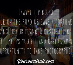 Yourowntrail Travel Tips No 33